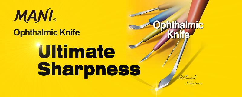 MANI ножчета за офталмологични операции